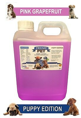 Fresh Pet Pet Disinfectant Cleaner Puppy Edition - 2L Pink Grapefruit