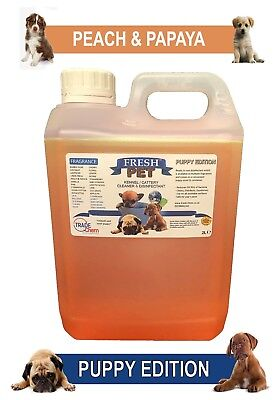 Fresh Pet Pet Disinfectant Cleaner Puppy Edition - 2L Peach & Papaya