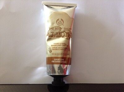 The Body shop Almond Crème manucure mains & ongles 100ml