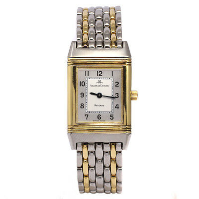 Jaeger-LeCoultre Reverso Classique Ladies Watch 18ct & Stainless Steel Boxed