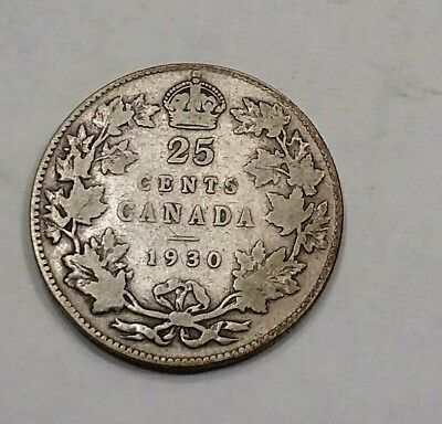1930 25C Canada 25 Cents