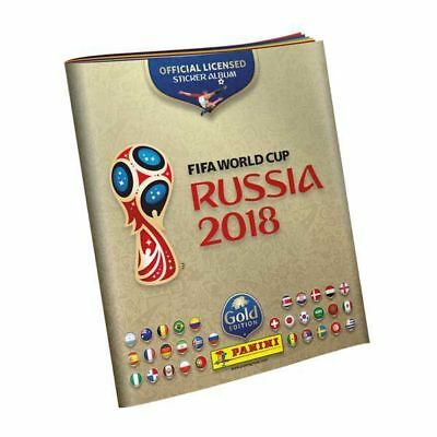 panini world cup 2018 limited hardcover gold collectors. Black Bedroom Furniture Sets. Home Design Ideas