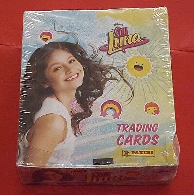 SOY LUNA Trading Cards Panini  Display (24-Booster) ungeöffnet