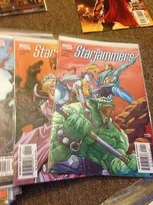 Star Jammers Issues 1,2,3,4,5,6 2004 Near Mint Boarded