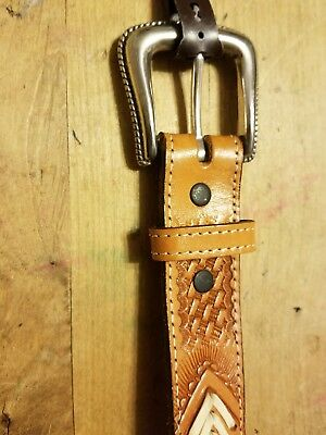 Nocona leather belt girls size 20