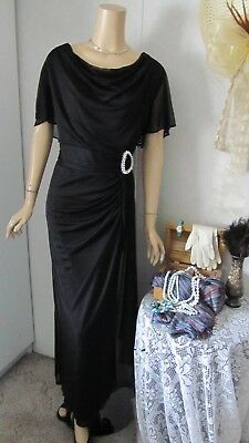 *NWT*Mother Of The Bride Dress by Onyx Nite-Size 20W-Black