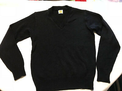 A+ by School Apparel INC., Black Long Sleeve Sweater, Boy's, Youth, Size XL