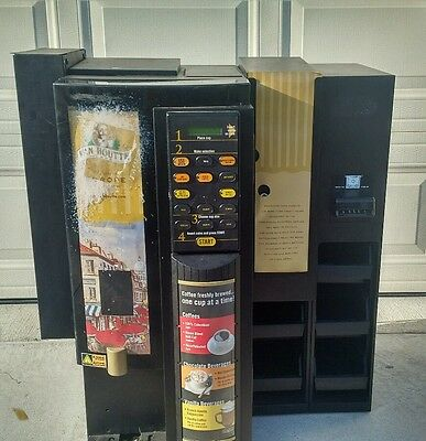 VKI SUPREMA Commercial Coffee Hot Chocolate Cappuccino Vending Machine w/Coin Op