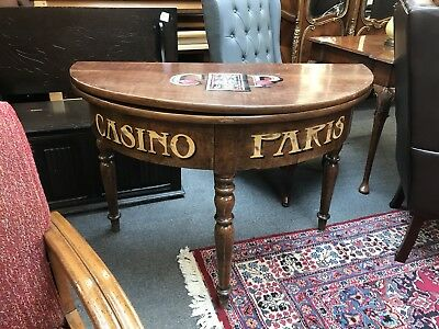 Victorian French Gaming Table. Card / Poker Table.