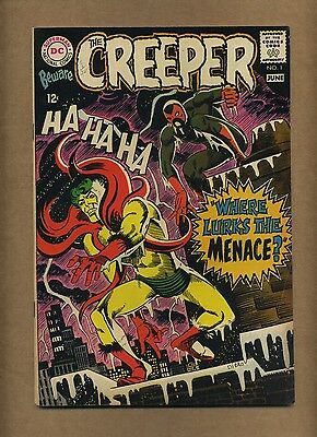 Beware the Creeper #1 (Solid!) Ditko cover and art; DC Comics; 1968 (c#12774)