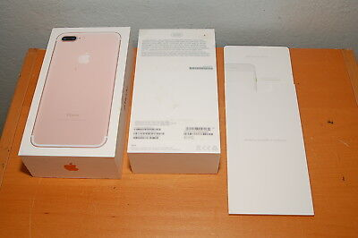 Apple iPhone 7 Plus - 32GB - Rose Gold Replacement BOX, BOX ONLY, No Phone