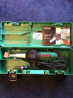 New Leister Triac ST Handheld Welder