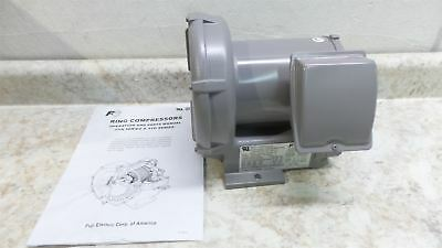 Fuji Electric VFC100A-7W 0.17 HP 27 CFM 200-230/460V Regenerative Blower