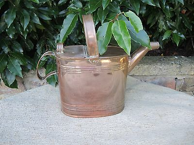 Vintage Copper Watering Can  Hot Water Can (828)