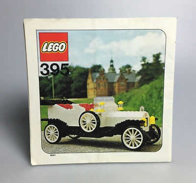 LEGO® Hobby Sets Bauanleitung - 395 Oldtimer 1909 Rolls Royce / instruction only