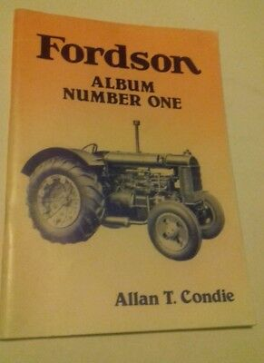 Booklet Fordson Album Number one.Vintage Tractor Publications, by Allan T Condie