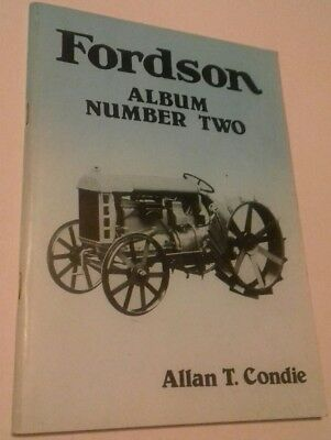 Booklet Fordson Album Number two.Vintage Tractor Publications, by Allan T Condie