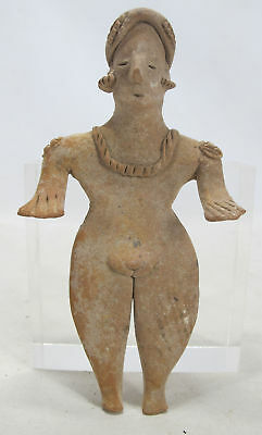 Pre-Columbian Colima Style Statuette Figure After Mexico 300 BCE-300 CE #24 yqz