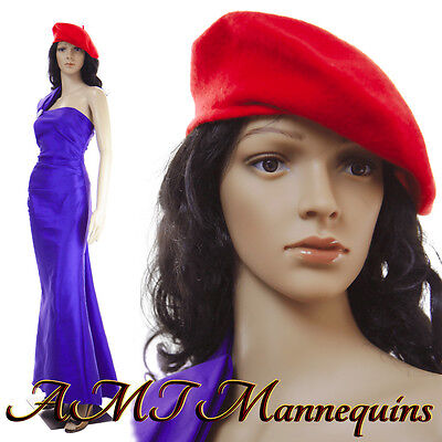 Female mannequin head and arms rotate, durable manikin Maddy+2FreeWigs