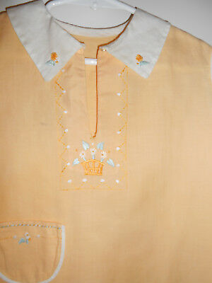 Vintage Toddler Baby Romper With Embrodery 24 Months
