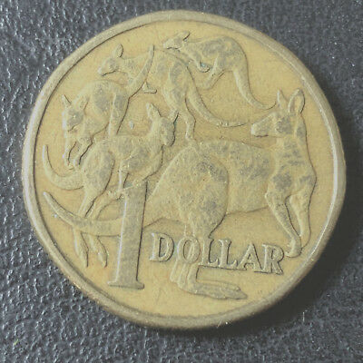 1984 Australian One Dollar $1 Coin