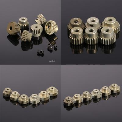 New 48DP Pinion Motor Gear Combo Set for 1/10 RC Car Brushed Brushless EA