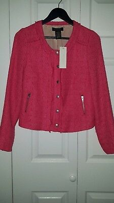 NWT Womens MM COUTURE by Miss Me Jacket Size Medium