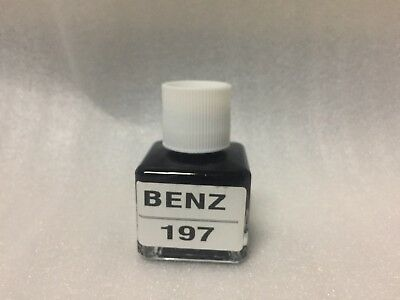For Mercedes BENZ Touch Up Paint Color Code # 197 Obsidian Black Metallic