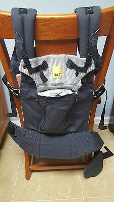 Lillebaby Complete All-Seasons, Charcoal EUC!!