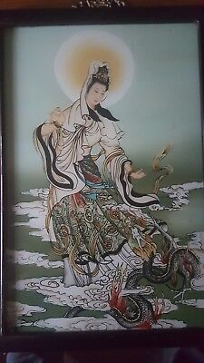 chinese reverse glass painting # 1