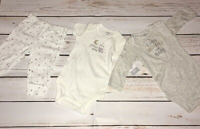 "Carter's ""I Love Mommy and Naps"" 3 Piece Outfit, NWT, Size 3M"