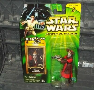 Star Wars Potj Series Queen Padme Amidala's Decoy Sabe Figure