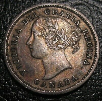Old Canadian Coins Rare Choice 1858 Canada Ten Cents Free Shipping Us And Ca