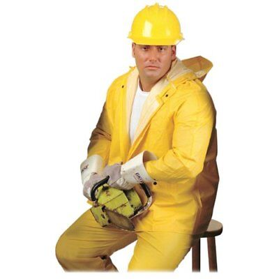 Mcr Safety 80062 Rain Suit 4-xtra Large Size - Pvc - 1each - Yellow (rts80067)