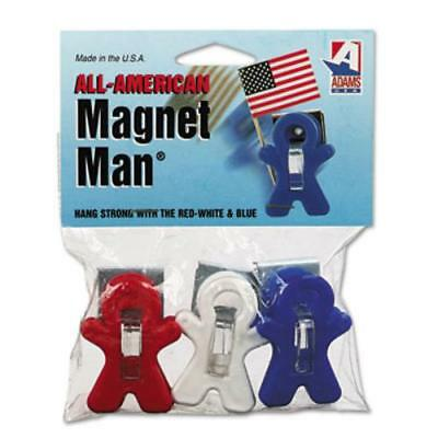 Adams All-american Magnet Man - 3 / Pack - Red, White, Blue (3303523241)
