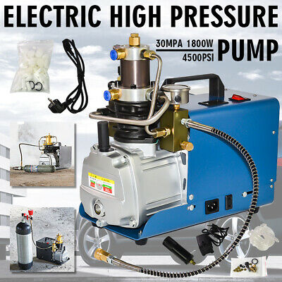 220V 30MPa Elektrische Air Compressor Pumpen PCP Electric High Pressure System