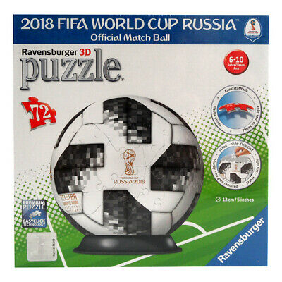 Ravensburger 3D Puzzle Adidas Ball 2018 FIFA WORLD CUP RUSSIA Fussball WM