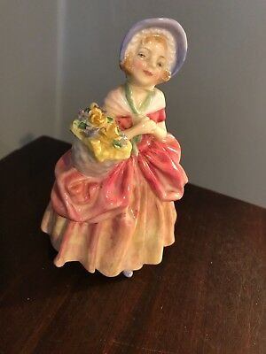 "Vintage Royal Doulton Cissie HN 5"" bone china porcelain figurine"