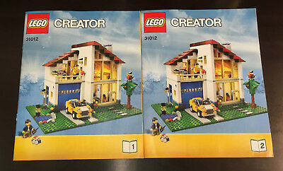 LEGO® Creator Bauanleitung - 31012 Großes Einfamilienhaus instructions only