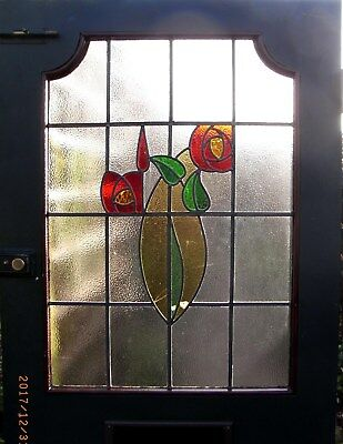 Beautiful Vintage Stained Glass Door