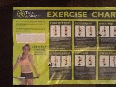 Twist and Shape excercise equipment