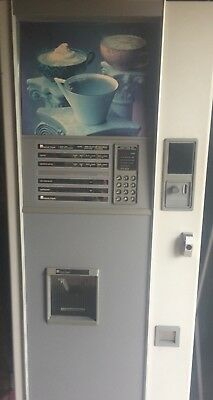 coffee vending machine working order
