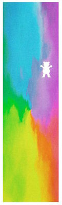"Grizzly Skateboard Grip Tape Sheet - 9"" x 33"" - Water Tiedye Cut"