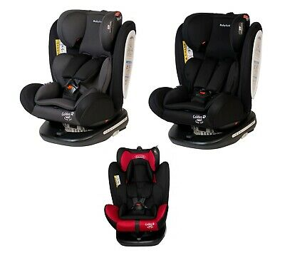 BabySafe GOLDEN 360 Group 0123 Car Seat Birth To 12 y.o. 0-36kg with Isofix Base