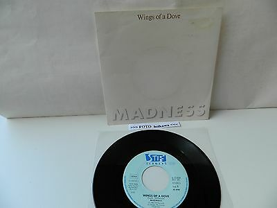 "7"" Vinyl: MADNESS - Wings Of A Dove / Behind The 8 Ball - 1983."