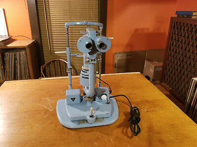 Vintage  Bausch and Lomb   Slit Lamp    No  716140   Optometry