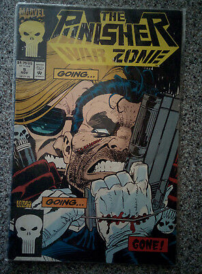 The Punisher - War Zone - Marvel Comics #9 dated 1992