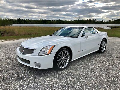 2008 Cadillac XLR V Convertible 2-Door 2008 Cadillac XLR V Alpine White Edition 1 of 38! Perfect Color Combo!