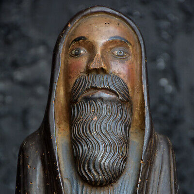Early 19th Century Hand carved Italian Folk-art Figure of Christ