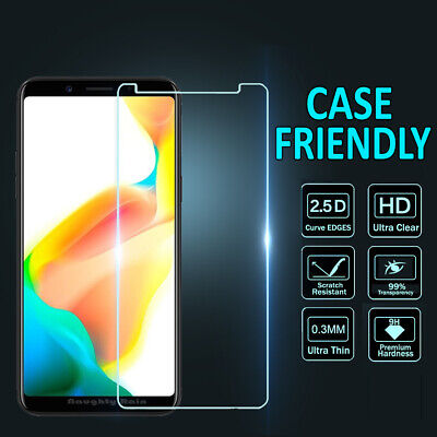 Genuine Tempered Glass Screen Protector for Oppo A3S AX5 AX7 A57 A73 R11 R11S